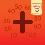 Leer optellen tot 100 met deze educatieve app.