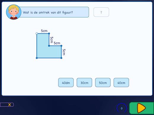 Hoe bereken je de omtrek uit van een figuur?