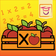 """Icon van de app """"De tien tafels"""""""